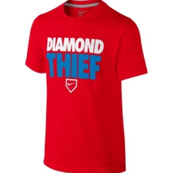 Nike Boys' Diamond Thief TD Baseball Graphic T-Shirt - Dick's Sporting Goods