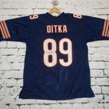 Mike Ditka Signed Autographed Chicago Bears Football Jersey (JSA COA)