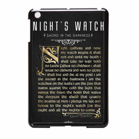 Game Of Thrones Nights Watch iPad Mini 2 Case