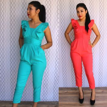 Frilly Fun Jumpsuit