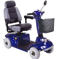 HS-580 Mid Range Scooter HS-580 - CTM Homecare 4-Wheel Midsize Scooters | TopMobility.com