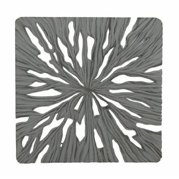 Intricate Designer Wood Carved Wall Panel