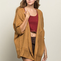 Awesome Oversize Open Cardigan