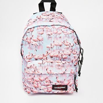 Eastpak Orbit Mini Backpack In Flamingo Print
