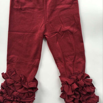 In Stock -maroon icing pant