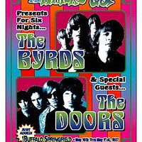 The Byrds & The Doors 1967 Whisky A Go Go Los Angeles