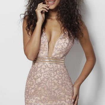 Jovani JVN62508- Rose/Gold