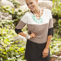 Like a Pro Tunic Black/Beige