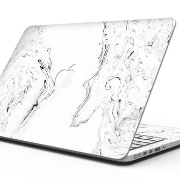 Mixtured Gray 22 Textured Marble - MacBook Pro with Retina Display Full-Coverage Skin Kit