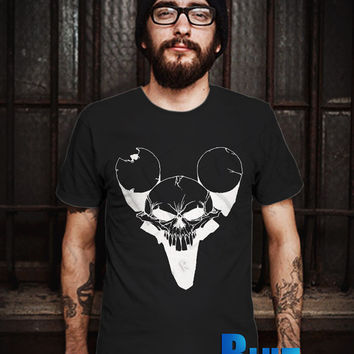 Kill Mickey Mouse Men T-Shirt - Mickey Is Dead T-Shirt - Mickey Mouse T-Shirt - Disney Design T-Shirt for Men (Various Color Available)