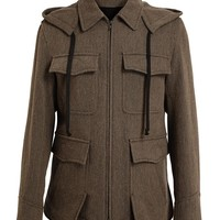ANN DEMEULEMEESTER | Brushed Wool Jacket | Browns fashion & designer clothes & clothing