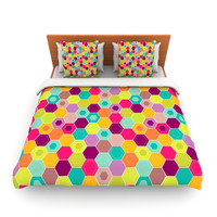 "Nicole Ketchum ""Arabian Bee"" Queen Fleece Duvet - Outlet"