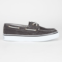 Sperry Top-Sider Bahama Mens Boat Shoes Black  In Sizes