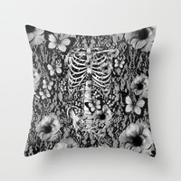 Idiopathic Idiot Throw Pillow by Kristy Patterson Design