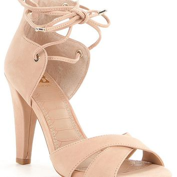 GB Dance-Floor Back Zip Lace-Up Dress Pumps | Dillards