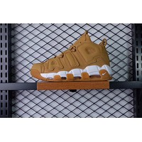 NIKE AIR MORE UPTEMPO WHEAT COLOR