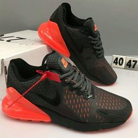 NIKE AIR MAX 270 2018 new breathable casual sports cushion running shoes F-CSXY