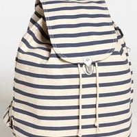 Women's Baggu Canvas Backpack