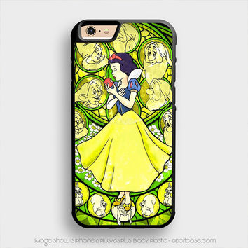 Snow White Stained Glass iPhone 6 Plus Case iPhone 6S+ Cases