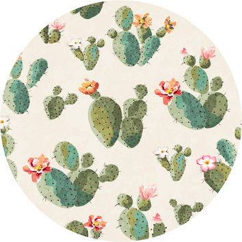 Insufferable Succulents Circle Wall Decal