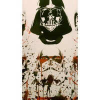DEATHTROOPER SLIM: Star Wars and the Zombie Stormtrooper Downfall wall art painting