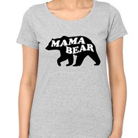 Mama Bear T shirt | Mother T shirt | Bear T shirt | Mom T Shirt | Gifts for Mom | Mama Bear Shirt | Mothers Gift