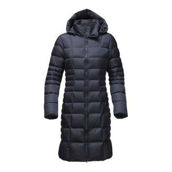 The North Face Metropolis Parka II for Women in Urban Navy NF0A2TAN-H2G