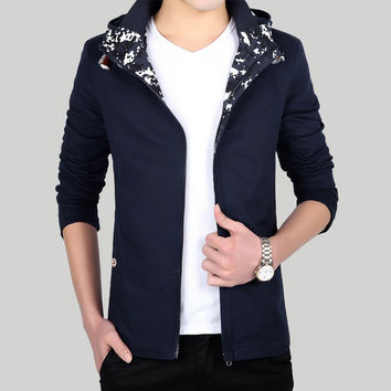 Men Hats Korean Casual Slim Jacket [8971058499]