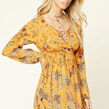 I The Wild Floral Print Dress