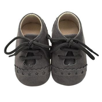 Baby Shoes Nu buck Leather Moccasins Soft Footwear Shoes For Baby Girls Kids Newborns