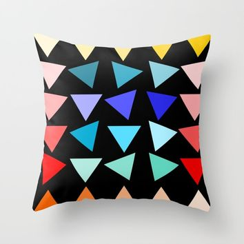 netzauge-marie Throw Pillow by netzauge