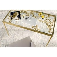 Rosalia Butterfly Desk by Safavieh | FOX2588A | Safavieh - Truth In Craft