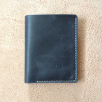 Men's Leather Wallet / Personalized Leather Wallet / Handmade Leather Wallet /Perfect gift for him / VD 0037