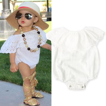 2017 summer spring children clothing sunsuit baby wear baby girl Onesuit bebe boutique jumpsuit baby girls clothes