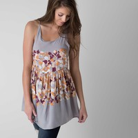Free People Floral Tunic Tank Top