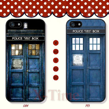 TARDIS Doctor Who, iPhone 5 case iPhone 5c case iPhone 5s case iPhone 4 case iPhone 4s case, Samsung Galaxy S3 \S4 Case--X07