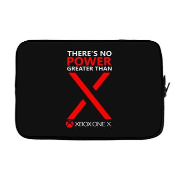 xbox one x – there's no power greater than x Laptop sleeve