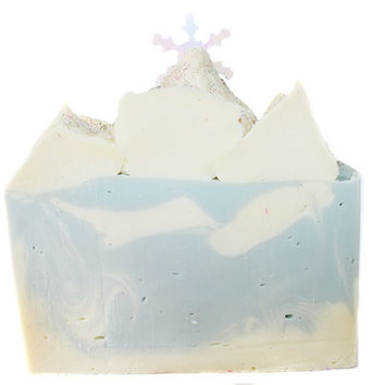 Frost and Snowdrops Soap Bar