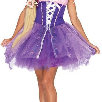 Rapunzel Adult Lg Beautiful Costume