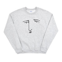 SOOP SOOP - Editorial Magazine Poor Gray Sweatshirt, Grey