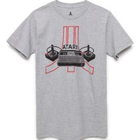 Atari 2600 T-Shirt - Mens Tee - Gray