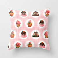 Sweets for my sweet Throw Pillow by Alessandro Aru