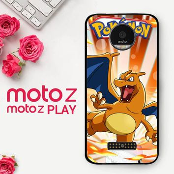 Pokemon Charizard X4513  Motorola Moto Z Play Case