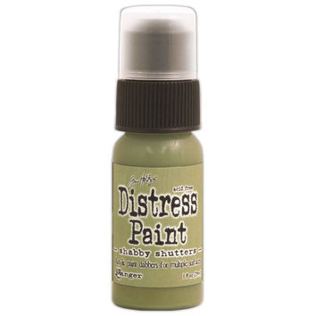 Distress Paint Dabber 1oz-Shabby Shutters