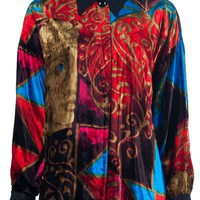 Gianni Versace Vintage MULTI-COLOURED SHIRT