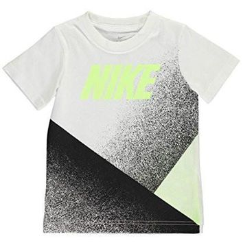Nike Little Boys' Dri-Fit Sleeveless T-Shirt (Sizes 4 - 7) - white, 5