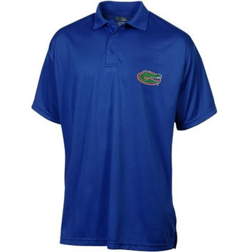 NCAA Florida Gators Cutter & Buck Drytec Royal Blue Men's Polo