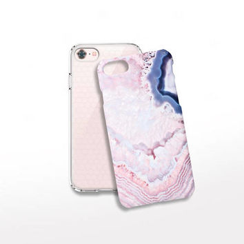 Quartz Print iPhone 8 Case Protective iPhone 7 Case Protective Gift for Her Samsung Galaxy S6 Case Tech Gifts iPhone SE Case  iPhone 6 Case