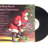 Vinyl LP We Wish You A Merry Christmas Record Album Stevie Wonder Jackson 5 Diana Ross