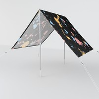 Spatter Sun Shade by duckyb